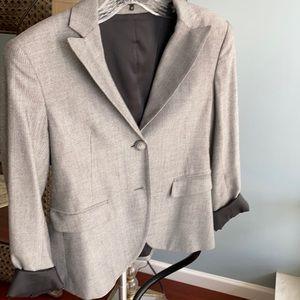 Theory size 4 gray blazer
